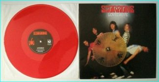 "SCORPIONS: Lovedrive 12"" [Red Vinyl] Check video"