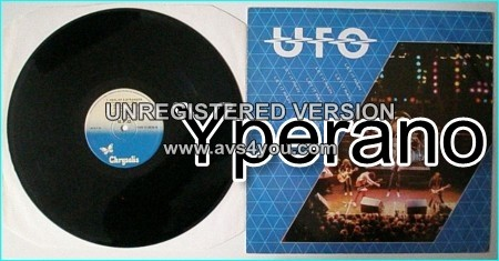 "UFO: Let it rain 12"" watch out for the killer unreleased song HEEL OF A STRANGER check audio n video"