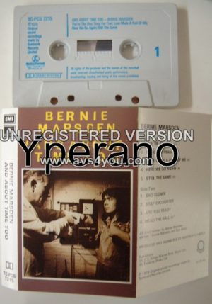 BERNIE MARSDEN: And about time too [tape] (ex- Whitesnake guitarist) Feat. many guests Check samples
