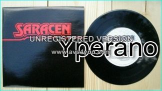 "SARACEN: We Have Arrived 7"" 1984 melodic progressive NWOBHM. Check video"