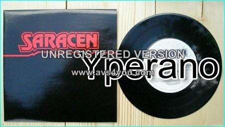 """SARACEN: We Have Arrived 7"""" 1984 melodic progressive NWOBHM. Check video"""