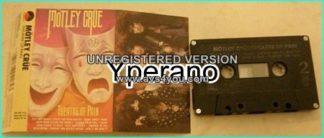 MOTLEY CRUE: Theatre Of Pain (Electra Rec.) Excellent 3rd album Tape. Check video