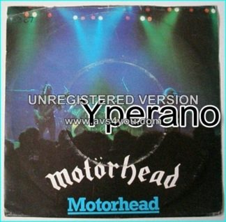 "MOTORHEAD: Motorhead (live) 7"" + OVER THE TOP. 1981, UK. Check sample"