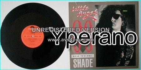 """LITTLE ANGELS: Ninety In The Shade 12"""" [Also contains Big, Bad World England Rocks recorded live] check VIDEO"""
