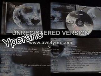 FATES WARNING: A pleasant Shade of Gray Live CD (Greek import) Different cover Greek presentation. CHECK VIDEO