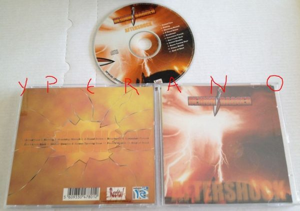 DEMON DAGGER: Aftershock CD. A la Megadeth, 100% Dave Mustaines vocals. Check samples