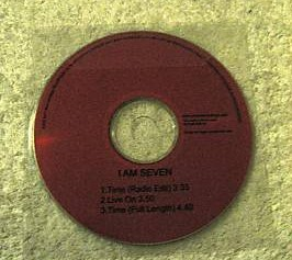 I AM SEVEN: Time PROMO CD. Nice Britpop. Check the video