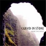 "CARVED IN STONE: Hear the Voice CD ""mystical folk music"" with acoustic guitar Cletic harp flutes. Check samples"