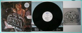 FM: Tough it Out LP. RARE Limited edition PROMO with window sticker. AOR forever. Check VIDEOS