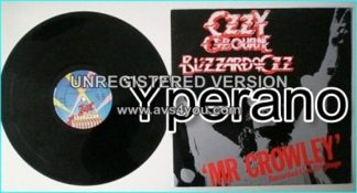 """OZZY OSBOURNE: Blizzard of Ozz 12"""" (PREVIOUSLY UNRELEASED live) 3 tracks recorded live October 1980 (Mr. Crowley. Check video)"""