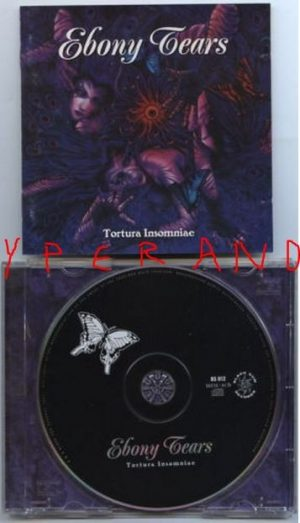 EBONY TEARS: Tortura Insomniae CD [ NWOSDM Swedish Death Metal ] Check samples