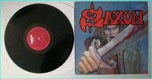 SAXON: Saxon (1st, s.t, debut studio LP 1979 ) Check audio samples