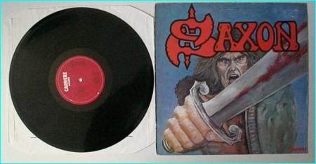 SAXON: Saxon (1st, s.t, debut studio LP 1979 ) Check audio samples