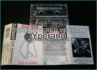 DUB WAR: Dub warning [rare Ltd. edition tape] Check samples