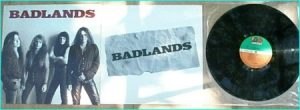 BADLANDS: s/t (1989) LP Debut w.Ray Gillen, Jake E. Lee CHECK 4 VIDEO CLIPS