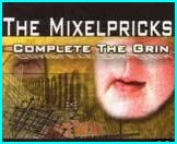 The MIXELPRICKS: Complete The Grin CD lo-fi scuzzy garage pop-punk, with 14 gems. Check videos