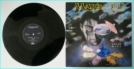 """MARILLION Sugar Mice 12"""" [Sugar Mice, Sugar Mice (Extended Version) Tux On (exclusive song) Check VIDEO"""