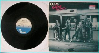 UFO: No place to Run LP (bottle green background tint) Check audio video samples
