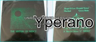 """The Sisters of Mercy: Temple of love 12"""" vinyl (Rolling Stones cover) Check videos"""
