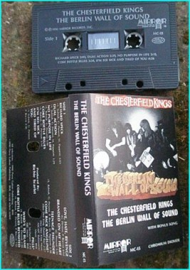 THE CHESTERFIELD KINGS: The Berlin Wall Of Sound [very RARE] incl. Dee Dee Ramone song. Check samples Videos