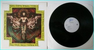 FIFTH ANGEL: Time will tell LP 1989, Dutch Pressing (BEST EVER). Timeless classic METAL. check audio