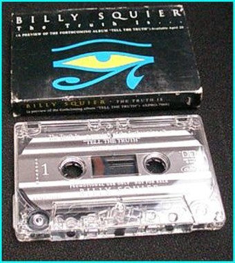 Billy SQUIER: Tell the truth [ Promo Tape] Check sample