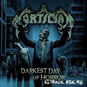 MORTICIAN: Darkest Day of Horror CD Brutal Death Metal / Grindcore. 20 sick songs. Check video. HIGHLY RECOMMENDED