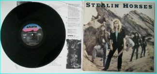 STEALIN HORSES: 1st, debut, s.t LP 1988 appearances by Neil Young, the entire Toto, etc. CHECK VIDEO