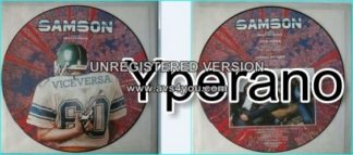 "SAMSON: Vice Versa 12"" [Picture disc. Bruce Dickinson on vocals (Iron Maiden singer)] check videos"