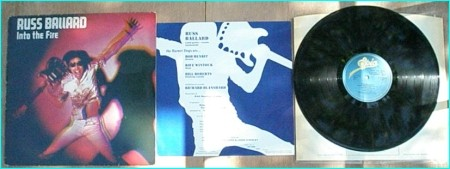 Russ BALLARD: Into the Fire solo LP for the hit maker of RAINBOW, SAMSON, SANTANA, KISS. Check samples