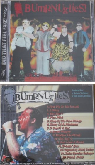"BUMP N UGLIES: The Finer Things In Life CD street punk. 17 songs ""Proud Mary"". Check live videos"