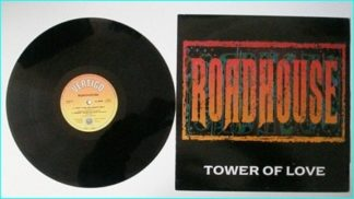 """ROADHOUSE: Tower Of Love [12"""" Def Leppard guitarist] 2 KILLER exclusive songs Check sample HIGHLY RECOMMENDED"""