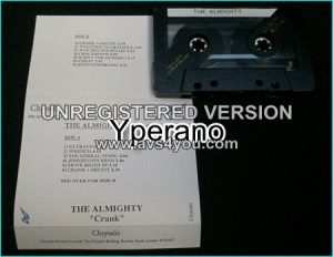 The ALMIGHTY: Crank Promo [tape] Check videos