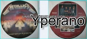 METALLICA: Master of Puppets [Picture Disc (first edition LP)]