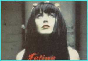 FELINE: S/T CD rock band w. great pop songs. Mix of Hole Primitives 12 songs (incl. Just As You Are) CHECK VIDEO