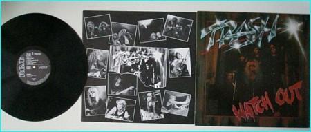 TRASH: Watch out LP (1982) AC/DC similaritiesCheck video