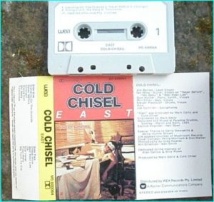COLD CHISEL: East (Classic album from this legendary Australian band) tape CHECK VIDEOS