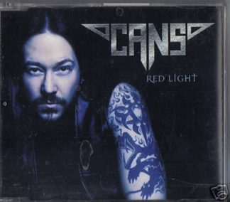 CANS: Red Light (CD single) [Hammerfalls lead vocalist Joacim Cans] Heavy Metal. Check sample