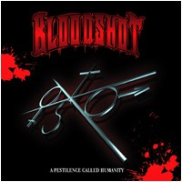 BLOODSHOT: A Pestilence Called Humanity CD Rare heavier hardcore. Metalcore/Hardcore. CHECK sample