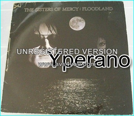 The Sisters Of Mercy Floodland Lp Check Samples And