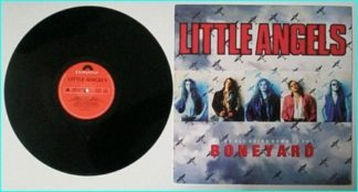 "LITTLE ANGELS: Boneyard 12"" Unreleased songs + great cover. Check video. Cool party tune / stripper song"