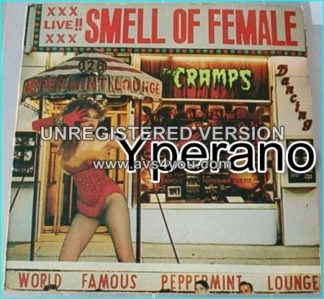 The CRAMPS: Smell of female Live LP. (Original UK pressing) Check videos