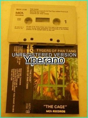 TYGERS OF PAN TANG: The Cage. CLASSIC [Tape] Check video