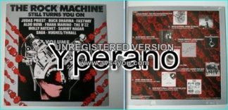 The Rock Machine Still Turns You On Volume I Compilation LP SIGNED Autographed (Blue Oyster Cult)