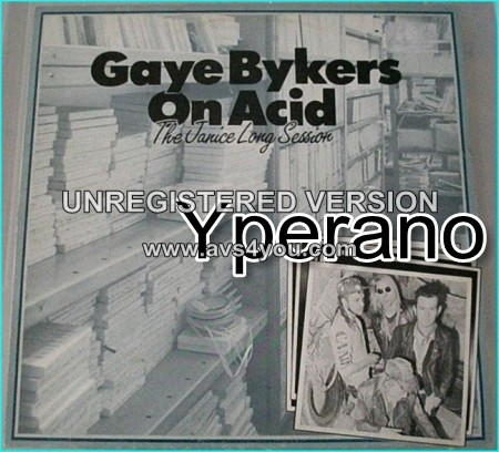 GAYE BYKERS ON ACID: The Janice Long Sessions LP part of the ˜grebo movement. Check video