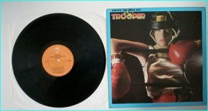 TROOPER: Knock Em Dead Kid LP [platinum album] Check SAMPLES