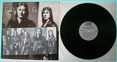 FOREIGNER: Double Vision LP Check samples. HIGHLY RECOMMENDED