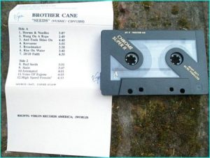 BROTHER CANE: Seeds (promo album, Virgin Records tape) Check samples