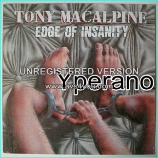 Tony MACALPINE: Edge of Insanity LP [Absolutely fantastic album killer line up] Check video