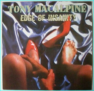 Tony MACALPINE: Edge of Insanity LP [Absolutely fantastic album DIFFERENT COVER with a killer line up ]check audio